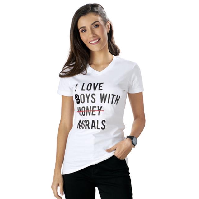 "Boy William T-Shirt Wanita ""I Love"" | BOY WILLIAM"